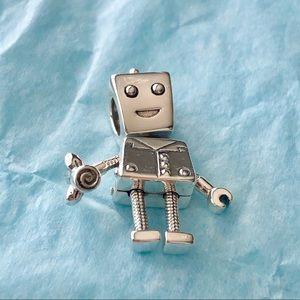 Pandora Rob Bot robot Charm
